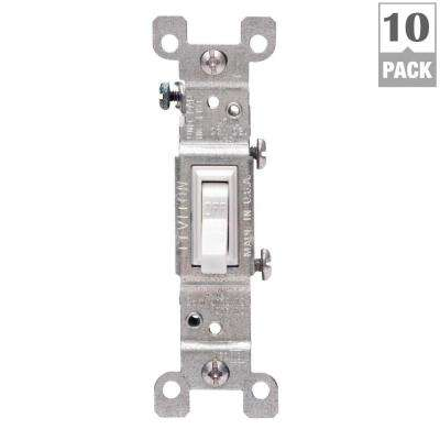 leviton light switches wiring devices & light controls the leviton light sensor switch wiring 15 amp single pole switch, white (10 pack)