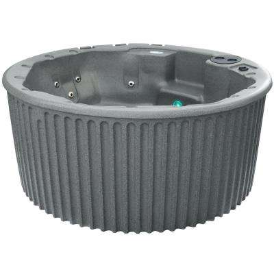 Haven 5-6 Person 20 Jet Standard Hot Tub Gray Granite PLUG and PLAY