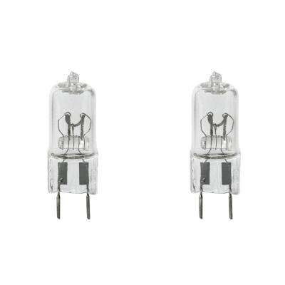 20-Watt Bright White (3000K) T4 G8 Bi-Pin Base Dimmable Halogen Light Bulb (2-Pack)