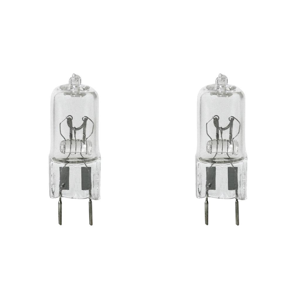 20-Watt Bright White (3000K) T4 G8 Bi-Pin Base Dimmable Halogen Light Bulb (2-Pack)