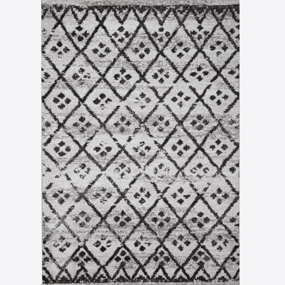 Parma Ivory/Gray 7 ft. 10 in. x 10 ft. 2 in. Indoor Area Rug