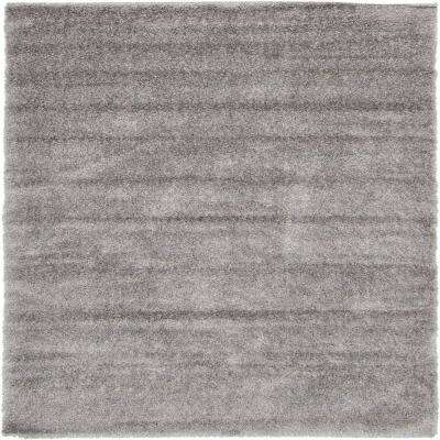 7 x 10 gray area rugs rugs the home depot luxe solo gray 7 x 10 rug gumiabroncs Choice Image
