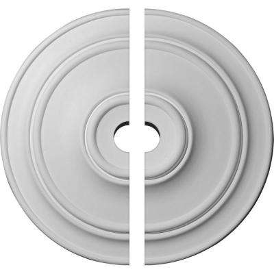 40-1/4 in. O.D. x 5 in. I.D. x 3-1/8 in. P Classic Ceiling Medallion (2-Piece)