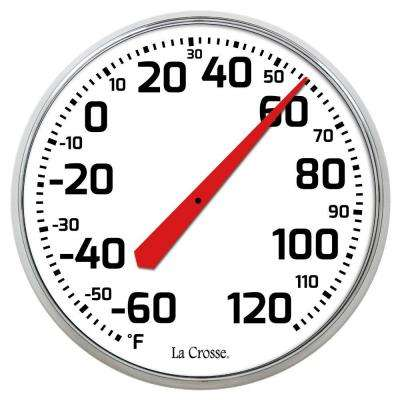 8.5 in. Round Dial Thermometer