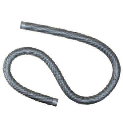 72 in. x 1.25 in. Heavy-Duty Silver Pool Filter Connect Hose