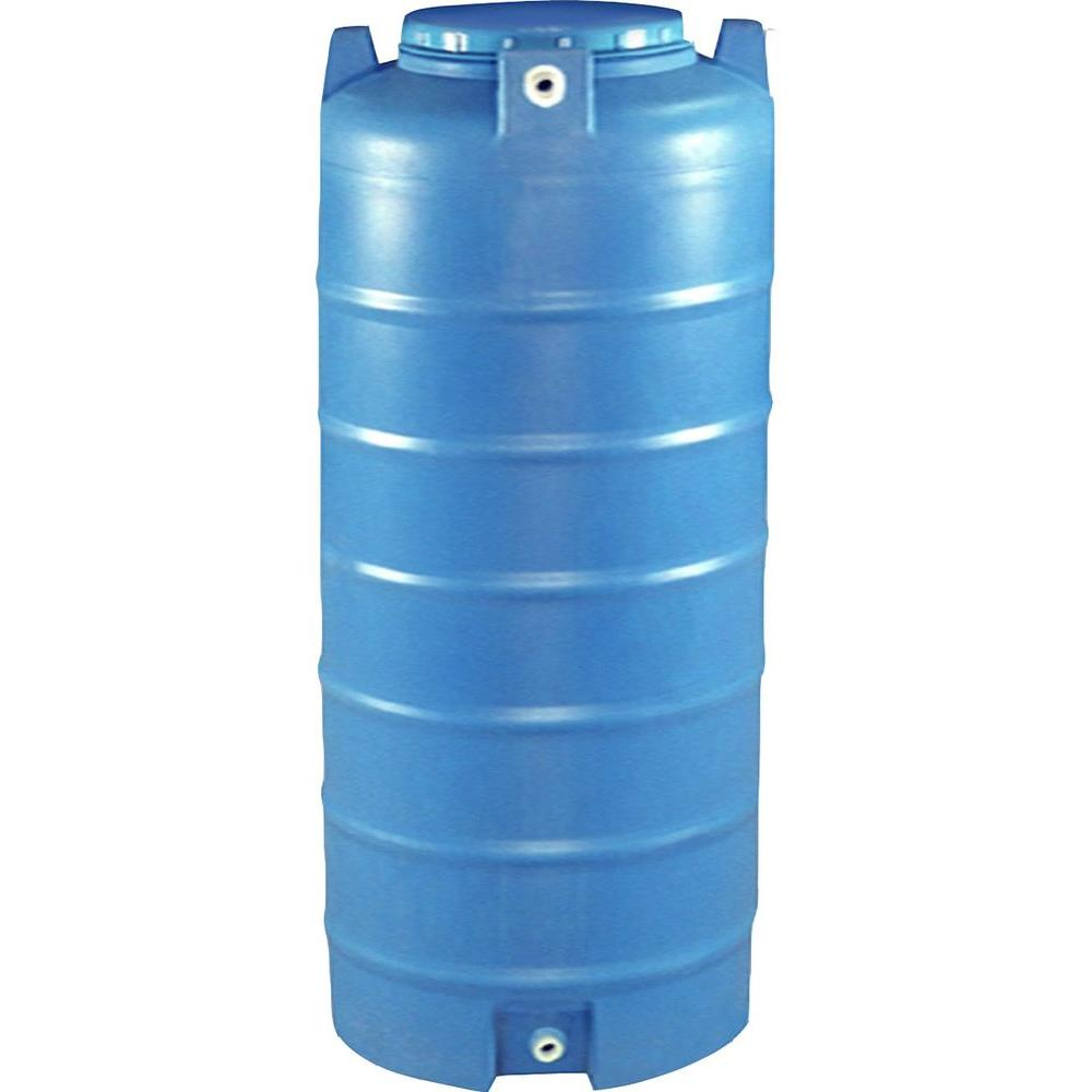 Vassallo 150 Gal Vertical Cylinder Water Tank VRM WTV150 The Home