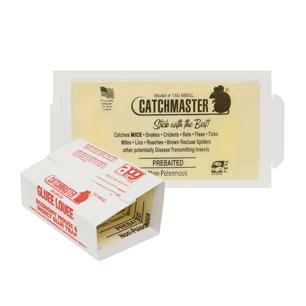 Catchmaster Mouse and Insect Bulk Glue Traps (Case of 75)