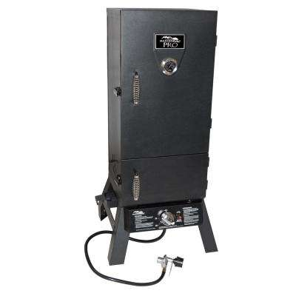 Charcoal and Propane Dual Fuel Smoker