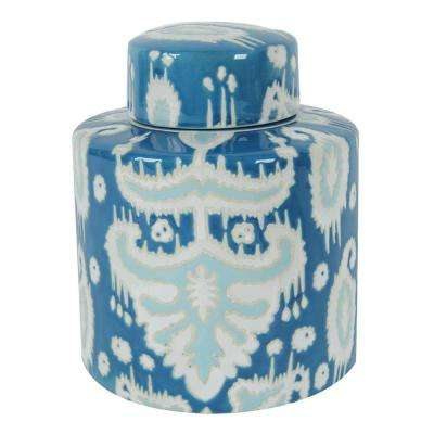 7 in. x 9 in. Decorative Lidded Jar