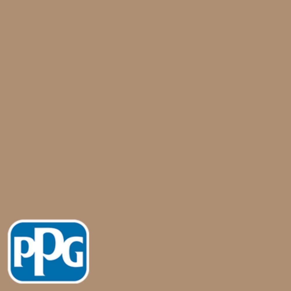 PPG TIMELESS 8 oz. #HDPPGO51U Tantalizing Tan Flat Interior/Exterior Paint Sample