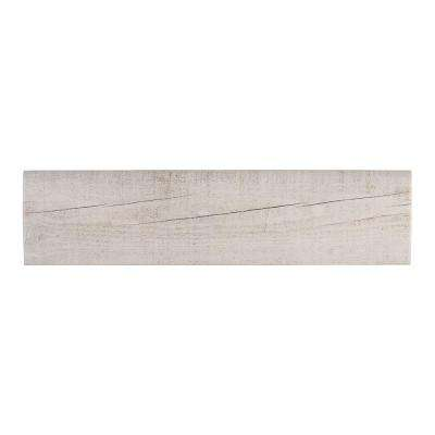 Oakwood Lily 3 in. x 13 in. Porcelain Single Bullnose Trim