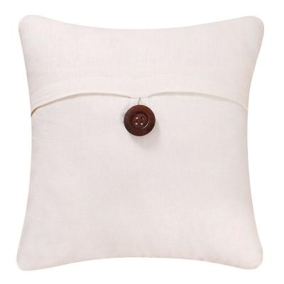 18 in. x 18 in. White Envelope Pillow