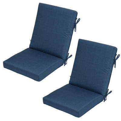 Charleston Outdoor Dining Chair Cushion (2-Pack)