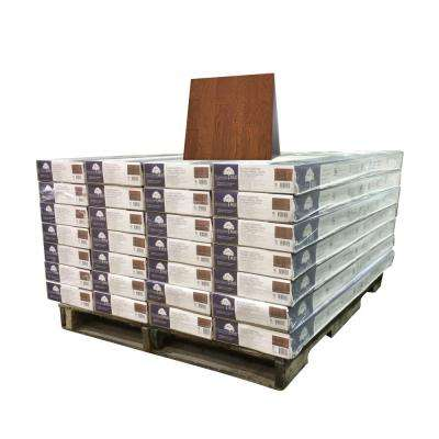Vintage Hickory Mocha 3/8 in. T x 4-3/4 in. W x Varying Length Engineered Click Hardwood Flooring (924 sq. ft. / pallet)