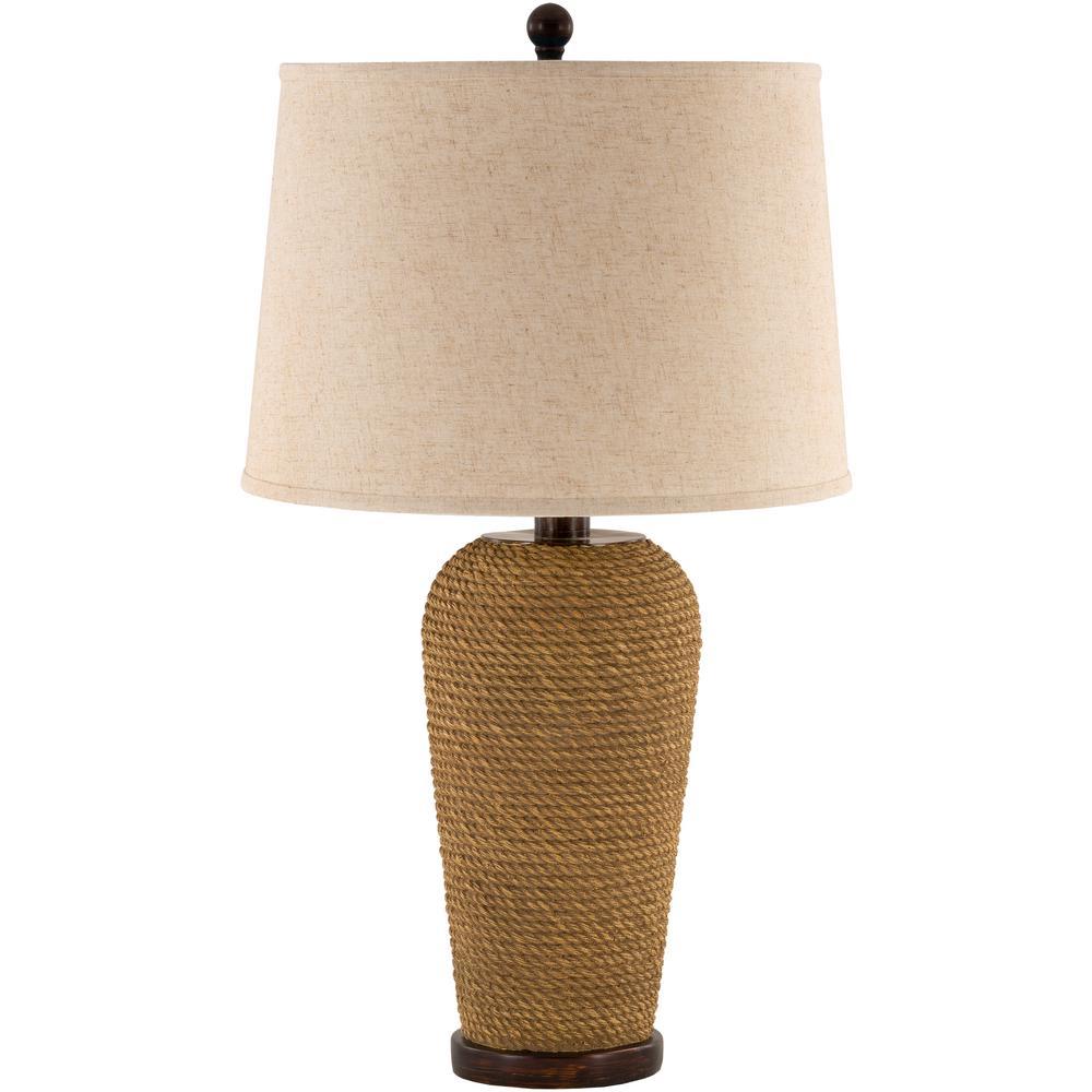 Meyers 28.75 in. Brown Indoor/Outdoor Table Lamp