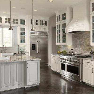 Installed Classic Custom Kitchen Cabinets