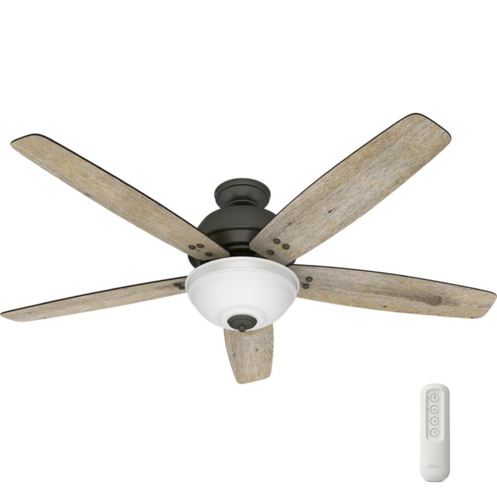 Hunter Ceiling Fan With Light And Remote 60 In. LED Indoor