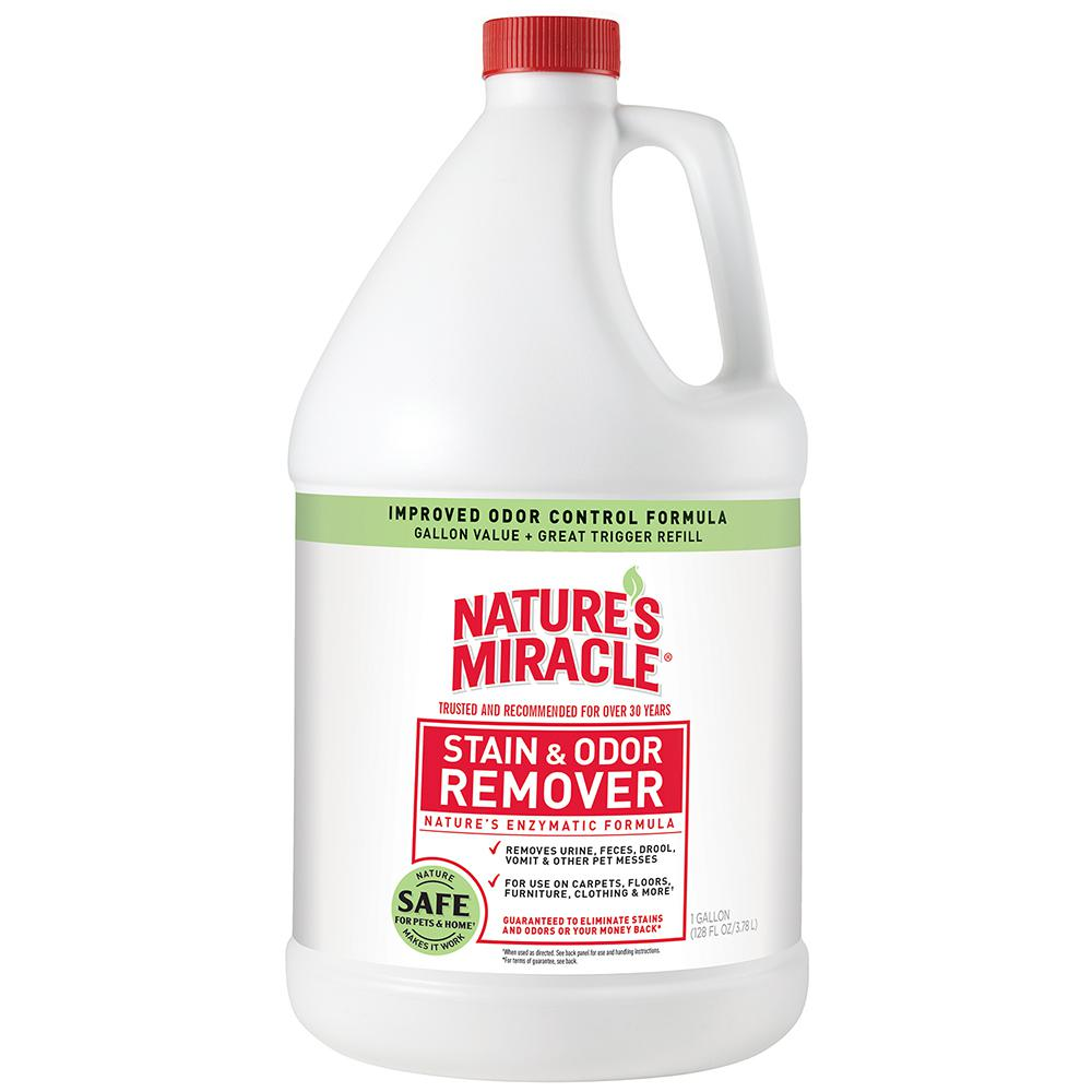 Nature's Miracle 128 oz. Ready to Use Stain and Odor Remover