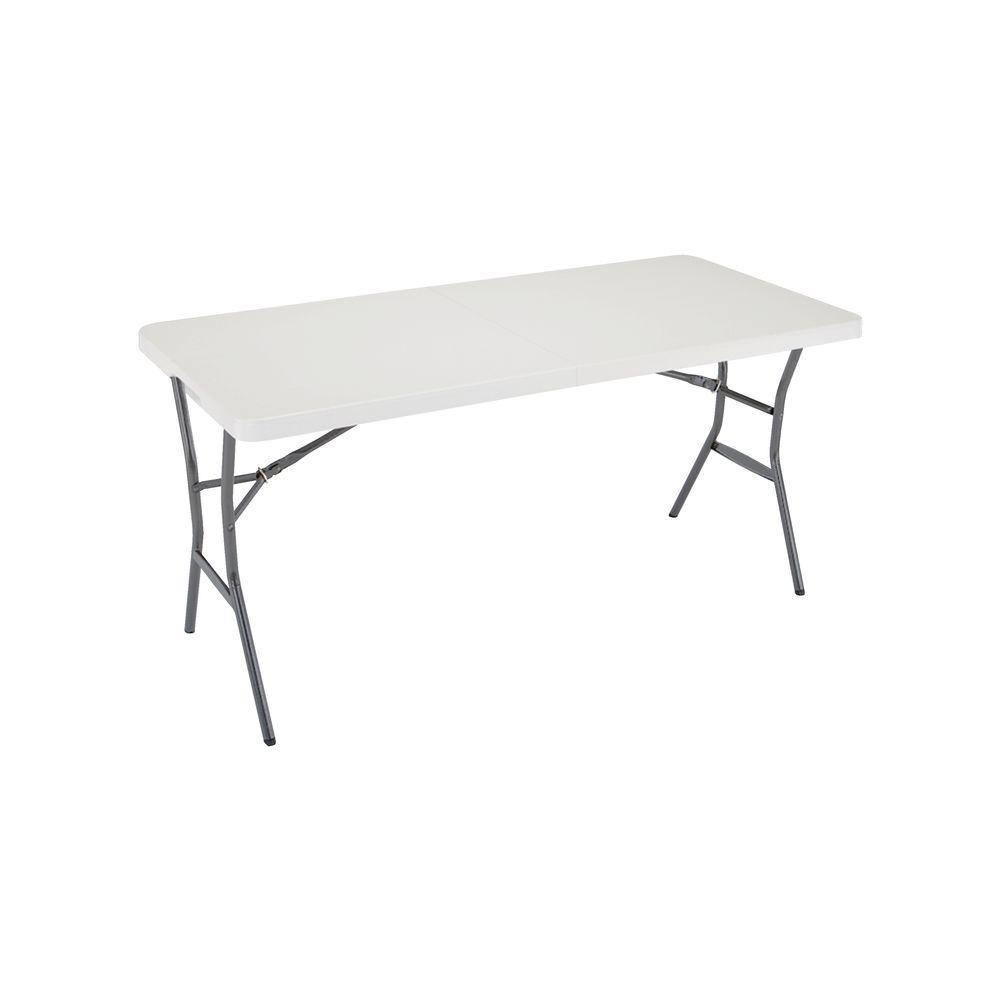 Lifetime Pearl Light Folding Table 80335 The Home Depot