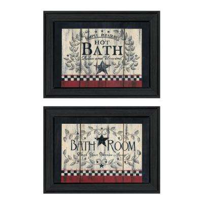 """Hot Bath"" by Linda Spivey Framed Wall Art"