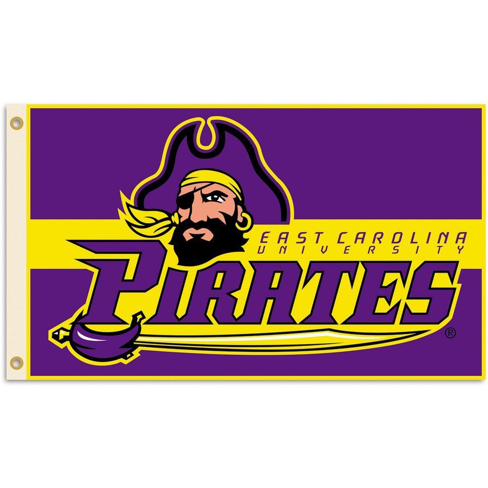 BSI Products NCAA 3 ft. x 5 ft. East Carolina Flag-DISCONTINUED