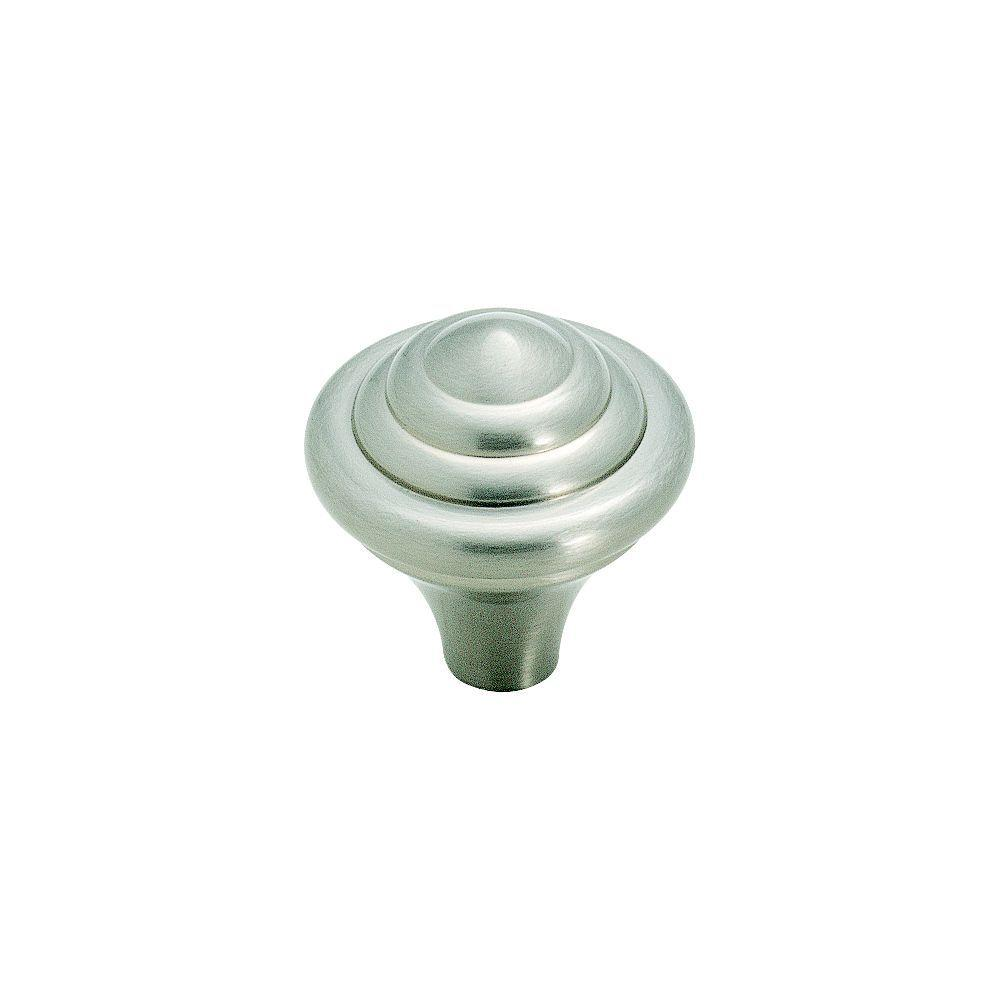 Abstractions 1-1/4 in. Satin Nickel Cabinet Knob