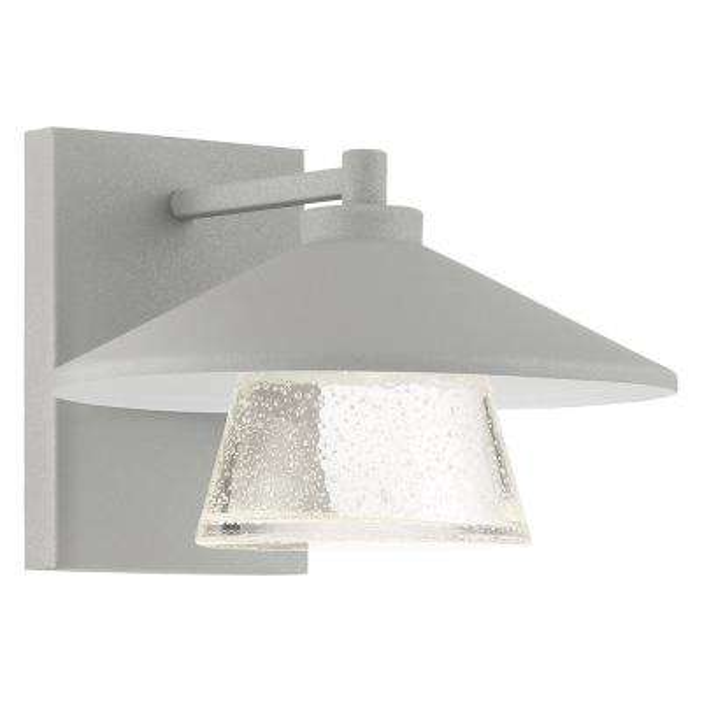 Silo Medium 1-Light Satin LED Outdoor Wall Mount Sconce