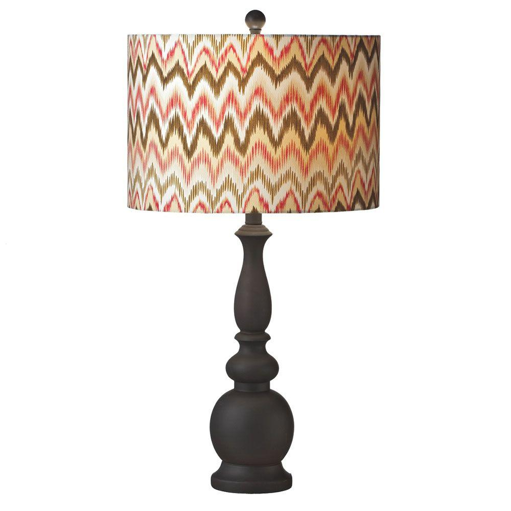 Filament Design Sundry 28 in. Brown Table Lamp-DISCONTINUED