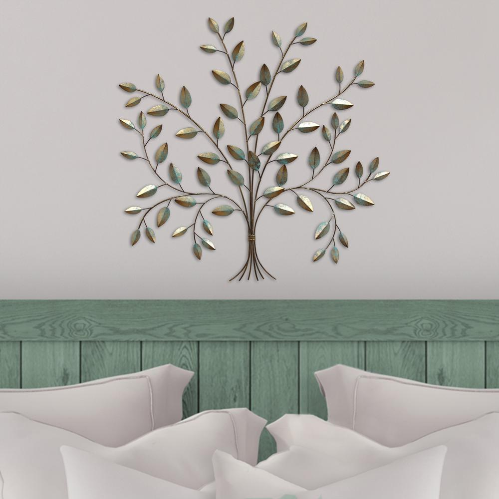 Stratton Home Decor Metal Tree Of Life Wall