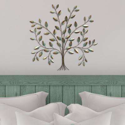 Stratton Home Metal Tree of Life Wall Decor