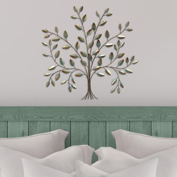 Metal Tree Of Life Wall Decor S07692