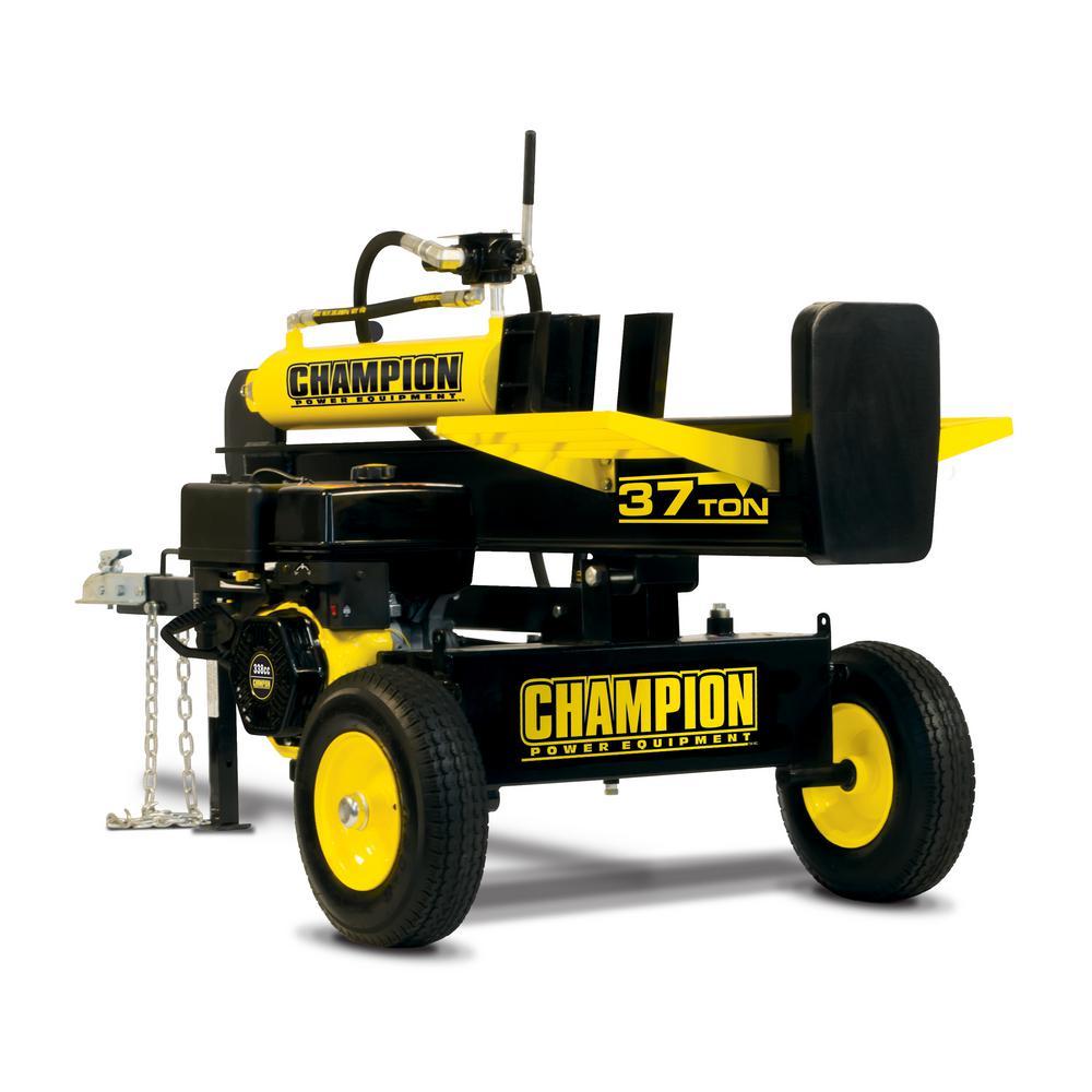 37-Ton 338cc Full Beam Gasoline Log Splitter