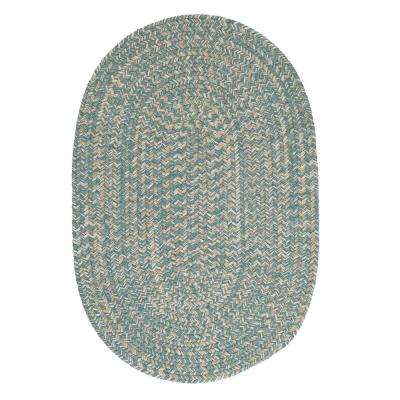 Cicero Teal 5 ft. x 8 ft. Area Rug