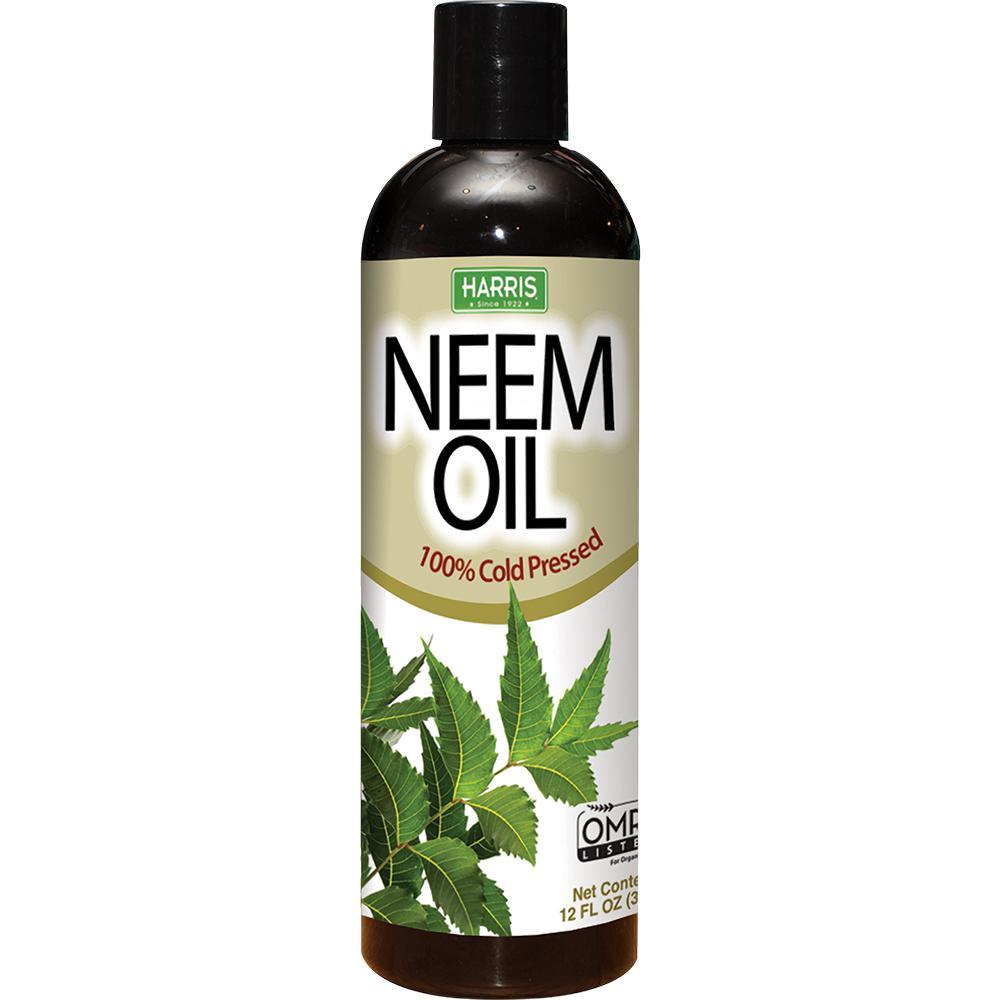 12 oz. 100% Cold Pressed Unrefined Cosmetic Grade Neem Oil