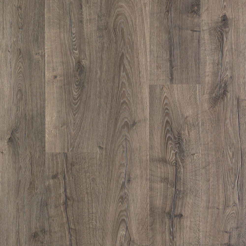 Outlast+ Vintage Pewter Oak Laminate Flooring - 5 in. x 7 in. Take Home Sample