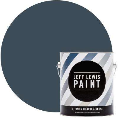 1 gal. #318 Deep Sea Diver Quarter-Gloss Interior Paint