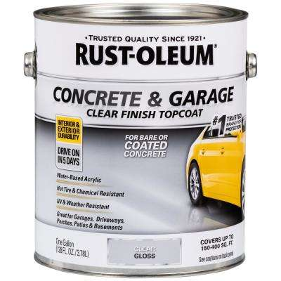 1 gal. Clear Concrete and Garage Floor Finish Topcoat (2-Pack)