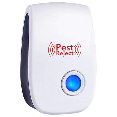 Upgraded 3-Watt Ultrasonic Electronic Indoor Pest Insect Mice Cockroaches Mosquitoes Ants Spiders Repellent (6-Pack)