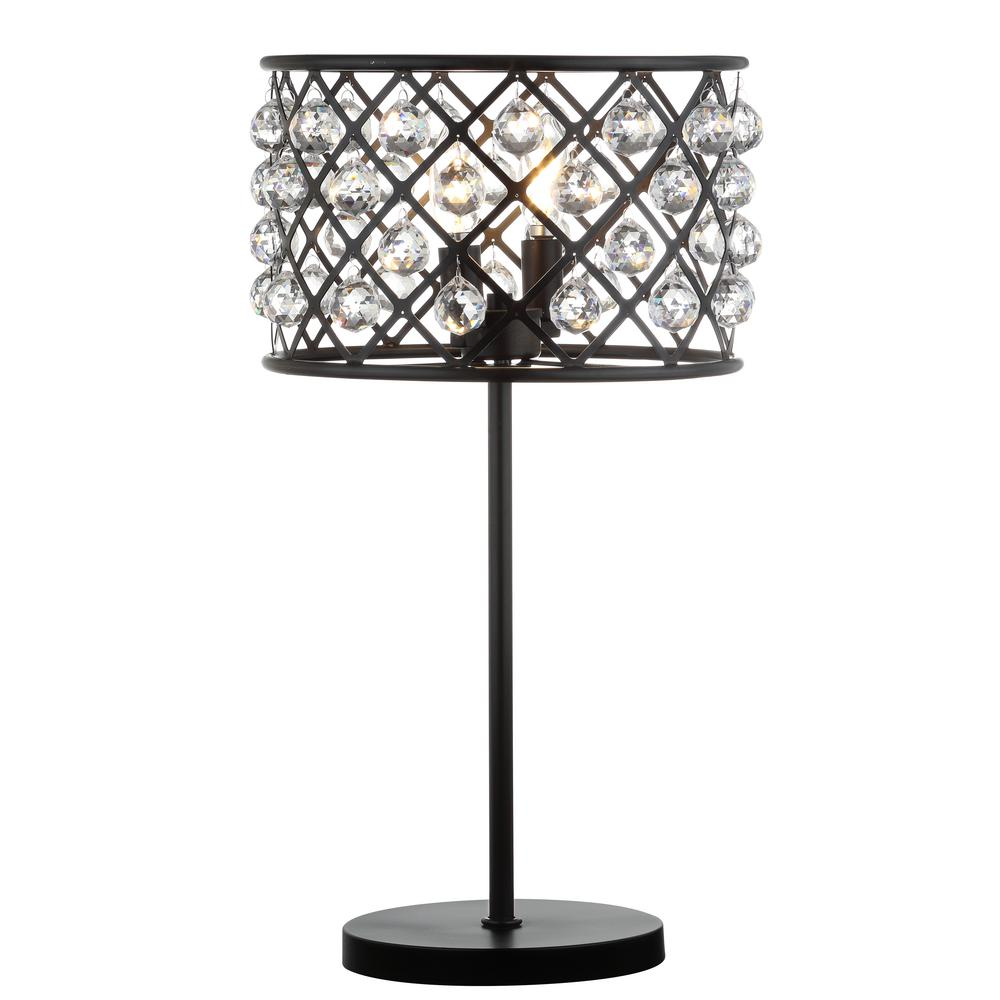 Jonathan Y Gabrielle 22 5 In Oil Rubbed Bronze Metal Crystal Led