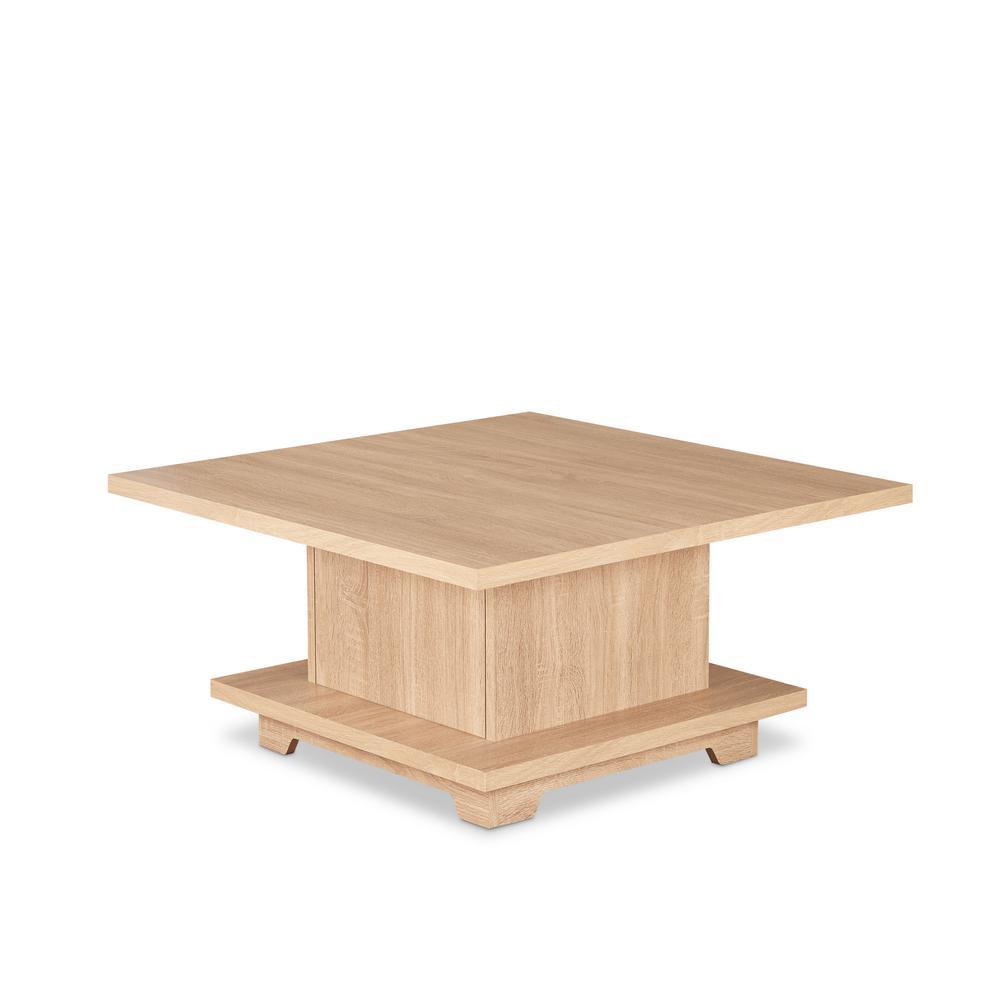 Acme Furniture Tally Coffee Table In Weathered Oak