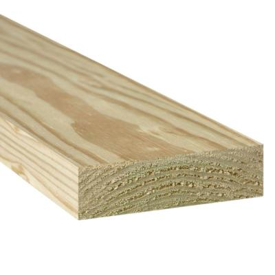 2 In X 10 In X 16 Ft 2 Pressure Treated Lumber 2550253 The