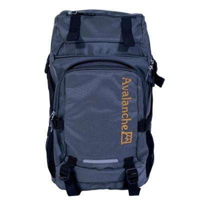 Avalanche 20 in. Grey Orem Daypack Backpack, Top Load Design