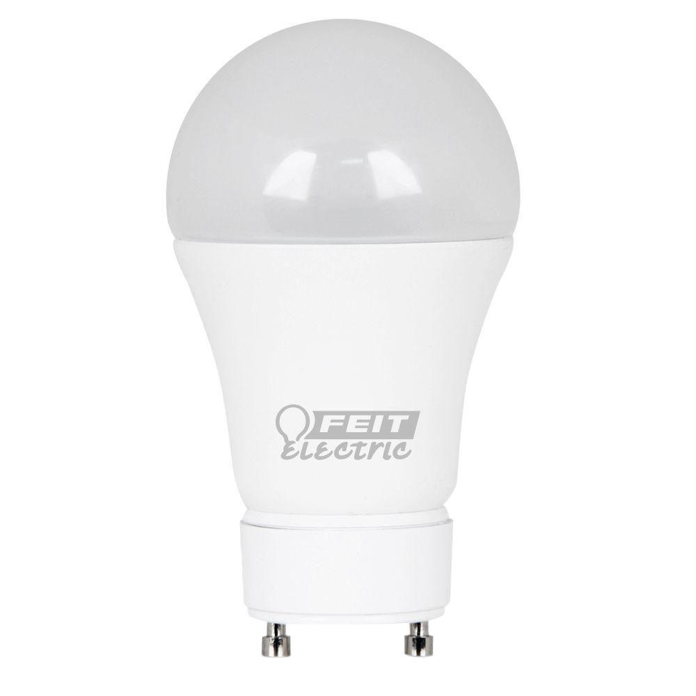 60W Equivalent Daylight A19 Dimmable GU24 LED Light Bulb (Case of