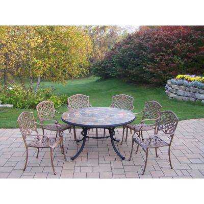 Mississippi 7-Piece Aluminum Outdoor Dining Set