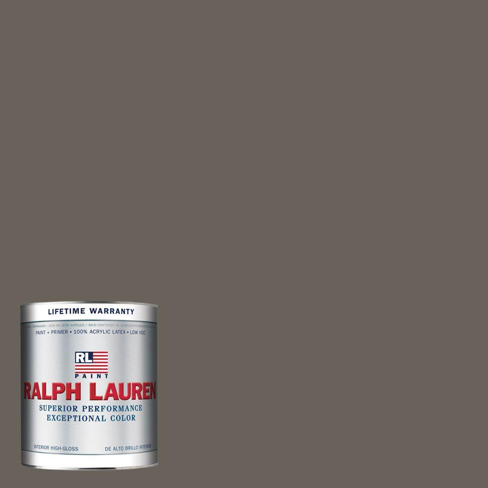 Ralph Lauren 1-qt. Wood Smoke Hi-Gloss Interior Paint