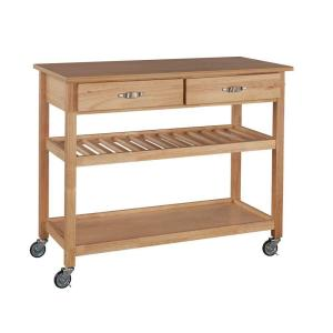 Exceptional Internet #203131065. Home Styles Natural Kitchen Cart ...