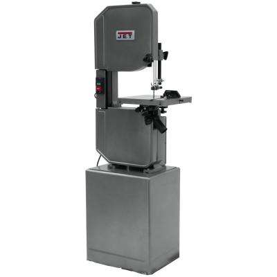 J-8201VS 14 ft. Metal/Wood Vertical Variable Speed Bandsaw