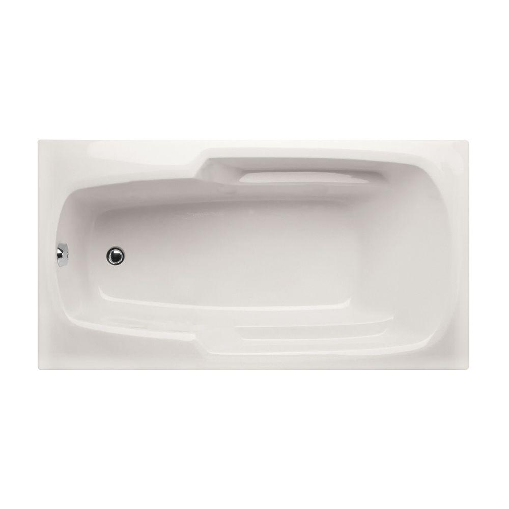 Hydro Systems Studio 6 ft. Reversible Drain Thermal Air Tub in White