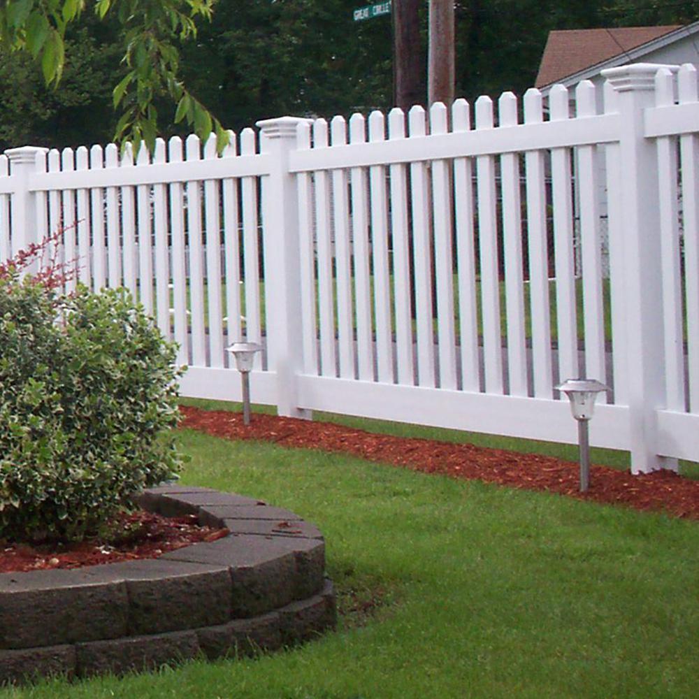 Vinyl Transition Privacy Fence Backyard Fence Decor Vinyl Fence Privacy Fences