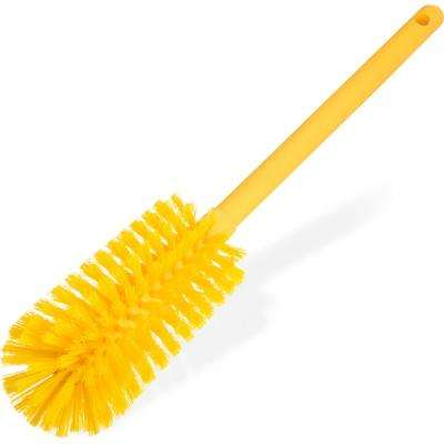 Sparta 16 in. Polyester Bottle Brush Long in Yellow (6-Pack)